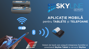 aplicatia mobila skyline tablet